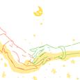 お月様と秘密