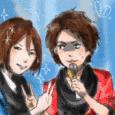 信長と蘭丸
